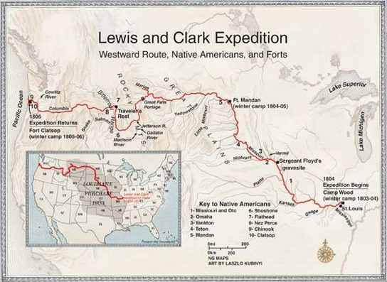 an overview of the concept of lewis and clark expedition Who were lewis and clark captain meriwether lewis (1774 - 1809) was  president thomas jefferson's private secretary he was in charge of the  expedition to.