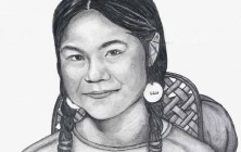 Portrait of Sacagawea