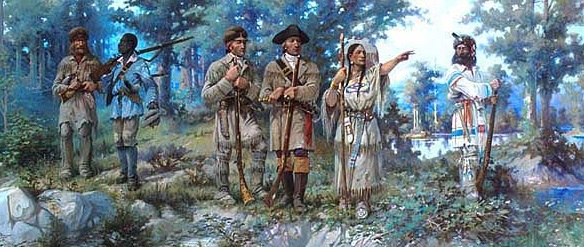 Sacagawea at the Three Forks