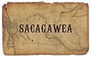 Sacagawea map background