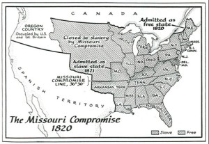 The 1820 Missouri Compromise