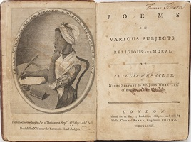 Phillis Wheatley was the first African American and the first woman to publish a book. She was also the first woman to make a living from her writing.