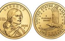 Sacagawea dollar coin, 2008