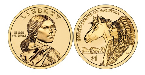 relationship between the corps of discovery and sacagawea dollar